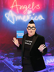 "Lea Delaria attends the Broadway Opening Night Arrivals for ""Angels In America"" - Part One and Part Two at the Neil Simon Theatre on March 25, 2018 in New York City."
