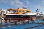 Port Townsend, yacht, Comrade, boats on the hard, Haven Boatworks, classic yachts, Boat Haven Marina, boat repair, Puget Sound, Olympic Peninsula, Washington State, Pacific Northwest, United States, On the Hard Series, MV Comrade,