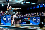 CLAYTON, MO - APRIL 14: Kristin Quah #27 of Vanderbilt University bowls during the Division I Women's Bowling Championship held at Tropicana Lanes on April 14, 2018 in Clayton, Missouri. Vanderbilt University defeated McKendree University 4-3. (Photo by Tim Nwachukwu/NCAA Photos via Getty Images)