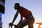 Defending Champion Vincenzo Nibali (ITA) Bahrain-Merida at the Team Presentation in Alghero, Sardinia for the 100th edition of the Giro d'Italia 2017, Sardinia, Italy. 4th May 2017.<br /> Picture: Eoin Clarke | Cyclefile<br /> <br /> <br /> All photos usage must carry mandatory copyright credit (&copy; Cyclefile | Eoin Clarke)