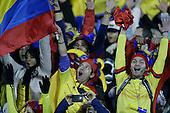 Hinchas de Colombia durante el partido de f&uacute;tbol por la Copa America entre Colombia y Brasil en Santiago, Chile, el 17 de junio 2015.<br /> <br /> Foto: Archivolatino/Roberto Candia<br /> <br /> COPYRIGHT: Archivolatino<br /> No esta permitido su uso sin autorizaci&oacute;n.