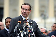 October 9, 2013  (Washington, DC) D.C. Mayor Vincent Gray during a news conference at the Capitol on freeing D.C.'s budget from the shutdown.  (Photo by Don Baxter/Media Images International)