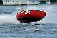 Jersey Speed Skiff JS-9 takes flight.