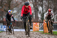 Picture by Alex Whitehead/SWpix.com - 02/02/2018 - Cycling - 2018 UCI Cyclo-Cross World Championships - Valkenburg, The Netherlands - Great Britain's Nikki Brammeier in action during a practice session.