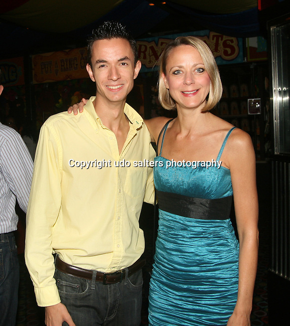 "Celebrity Magician Matt Wayne and Karen Biehl attend SACHIKA Fall 2010 Collection ""Runway in a Circus"" Fashion Show held at Carnival, NY 8/20/10"