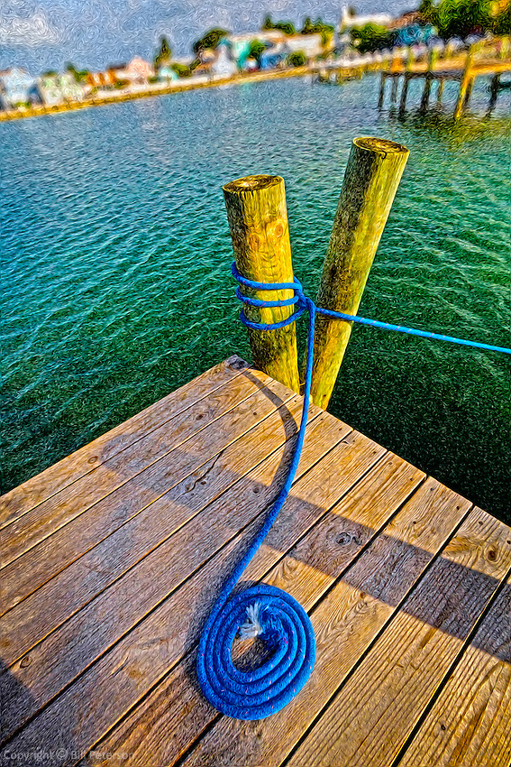 Abaco Dock perfect in Canvas/Canvas wrap and Matte print.<br /> View Detail: http://www.petersongallery.com/image/I0000BwkPDy_4Gx0