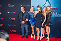 Los Angeles, CA - AUGUST 13th: <br /> Stallone Family attends the 47 Meters Down: Uncaged premiere at the Regency Village Theater on August 13th 2019. Credit: Tony Forte/MediaPunch