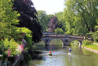 The Historic city of Cambridge looks rather empty as entertainment venues and tourist haunts are closed, despite lockdown conditions being eased.  The 'lockdown' continues for the Coronavirus (Covid 19) outbreak in the UK. Cambridge, UK on May 30th 2020<br /> <br /> Photo by Keith Mayhew