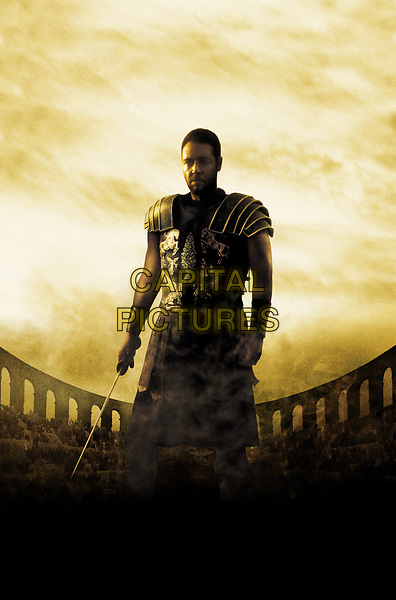 Gladiator (2000)<br /> Promotional art with Russell Crowe<br /> *Filmstill - Editorial Use Only*<br /> CAP/KFS<br /> Image supplied by Capital Pictures