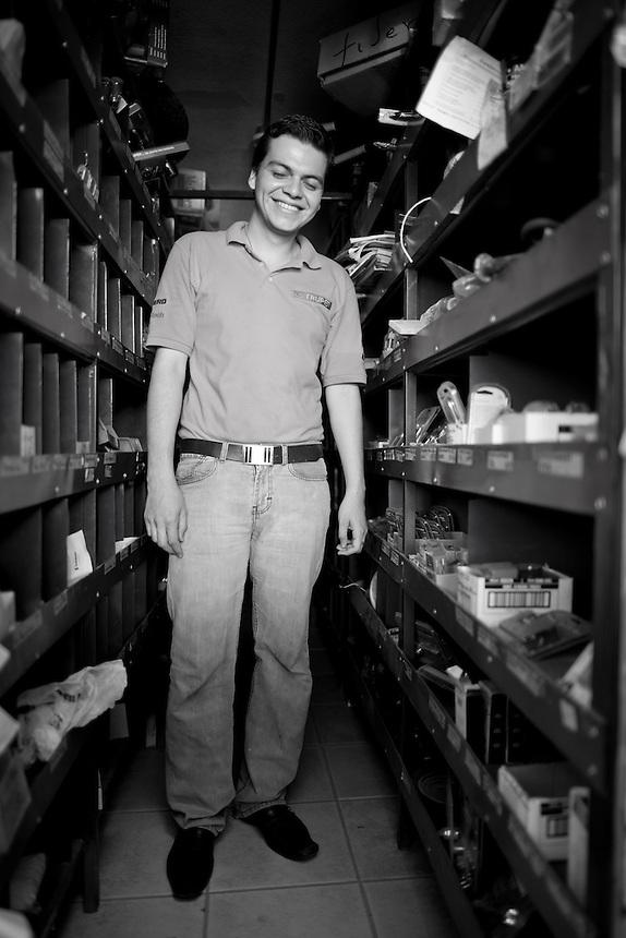 Jorge Luis Beltran Vargas. Hardware store owners in Culiacan, Sinaloa,  Mexico