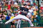 13 March 2010: Atlanta Braves' pitcher Mike Dunn in action during a Spring Training game against the Toronto Blue Jays at Champion Stadium in the ESPN Wide World of Sports Complex in Orlando, Florida. The Blue Jays shut out the Braves 3-0 in Grapefruit League action. Mandatory Credit: Ed Wolfstein Photo