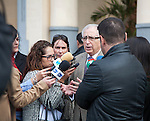 Press interview Imbroda Ortiz president of the autonomous city state of Melilla, a Spanish exclave in north Africa,