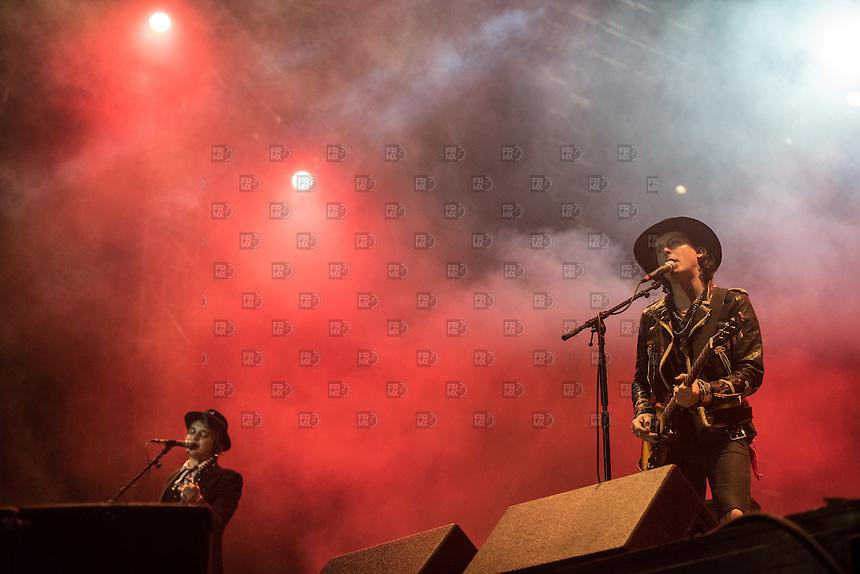 CIUDAD DE MEXICO, D.F. 21 Noviembre.- The Libertines durante el festival Corona Capital 2015 en el Autodromo Hermanos Rodríguez de la Ciudad de México, el 21 de noviembre de 2015.  FOTO: ALEJANDRO MELENDEZ