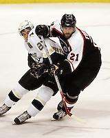 at the Wachovia Center. Pittsburgh Penguins vs Philadelphia Flyers, Philadelphia, Pa., Monday, January 23rd, 2006