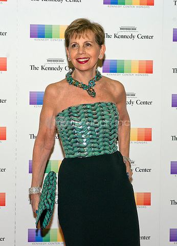 Adrienne Arsht arrives for the formal Artist's Dinner honoring the recipients of the 38th Annual Kennedy Center Honors hosted by United States Secretary of State John F. Kerry at the U.S. Department of State in Washington, D.C. on Saturday, December 5, 2015. The 2015 honorees are: singer-songwriter Carole King, filmmaker George Lucas, actress and singer Rita Moreno, conductor Seiji Ozawa, and actress and Broadway star Cicely Tyson.<br /> Credit: Ron Sachs / Pool via CNP/MediaPunch