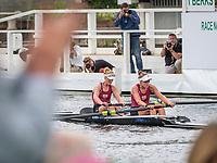 Henley Royal Regatta, Henley on Thames, Oxfordshire, 28 June - 2 July 2017.  Friday  12:25:42   30/06/2017  [Mandatory Credit/Intersport Images]<br /> <br /> Rowing, Henley Reach, Henley Royal Regatta.<br /> <br /> The Women's Pair<br />  G.E. Prendergast &amp; K.L. Gowler (Waiariki Rowing Club, New Zealand)