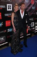 06 August 2017 - Las Vegas, NV -  Tara Reid, Ian Ziering.  Sharknado 5 Global Swarming red carpet premiere at Linq Hotel and Casino. Photo Credit: MJT/AdMedia