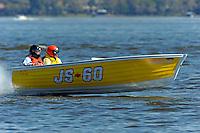 "Phil Jordan, JS-60 ""Mello Yellow"" (Jersey Speed Skiff)"