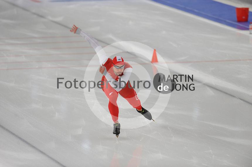 SCHAATSEN: BERLIJN: Sportforum Berlin, 07-12-2014, ISU World Cup, ©foto Martin de Jong