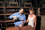 California: Napa Valley wine tasting at Niebaum-Coppola..Photo copyright Lee Foster, 510/549-2202, lee@fostertravel.com, www.fostertravel.com.Photo #: cageta104