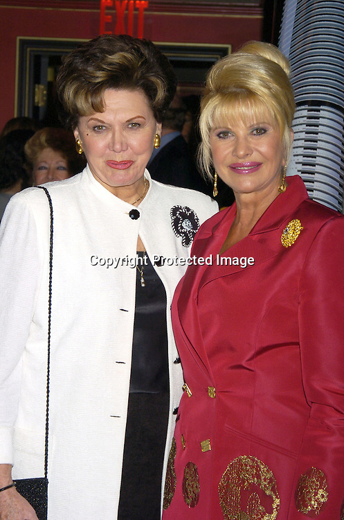 Aja Stindler and Ivana Trump ..at a party at Club Fizz  for Ivana Trumps new Condominium in Las Vegas called Ivana Las Vegas on August 17, 2005...Photo by Robin Platzer, Twin Images