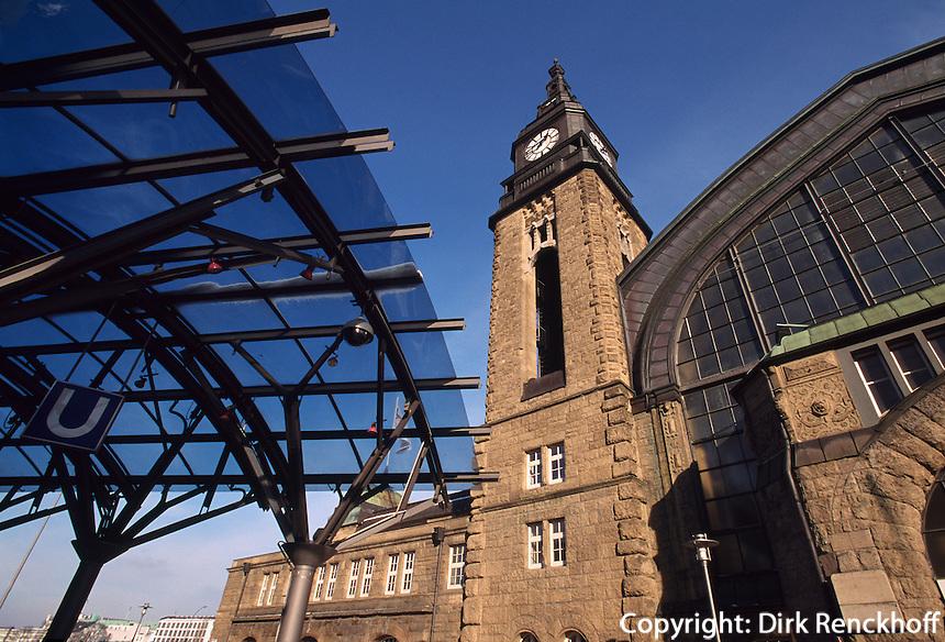 Deutschland, Hauptbahnhof in Hamburg