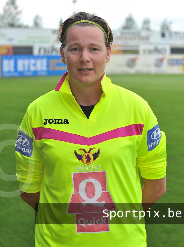 Beerschot Antwerpen Dames : Debby Jacobs.foto David Catry / Vrouwenteam.be / LOFT6.be