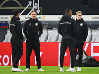 Torwart Bernd Leno (Deutschland Germany), Jonathan Tah (Deutschland Germany), Julian Brandt (Deutschland Germany) - 15.11.2018: Deutschland vs. Russland, Red Bull Arena Leipzig, Freundschaftsspiel DISCLAIMER: DFB regulations prohibit any use of photographs as image sequences and/or quasi-video.