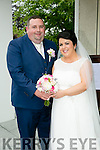 Mary Cotter, Rathmore, daughter of Pat and Hannah Mary Cotter, and Sean O'Keeffe, Gneeveguilla, son of Mike and Lil O'Keeffe, were married at Our Lady of Laudes Church, Ballydaly by Canon Jack Fitzgerald on Saturday 18th June 2016 with a reception at Ballygarry House Hotel