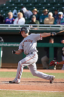 Buster Posey - Scottsdale Scorpions, 2009 Arizona Fall League.Photo by:  Bill Mitchell/Four Seam Images..