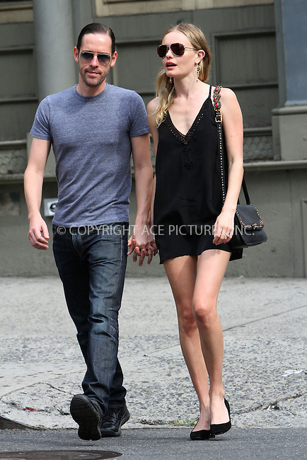 WWW.ACEPIXS.COM....September 6 2012, New York City....Actress Kate Bosworth walks with her fiance Michael Polish in Soho on September 6 2012 in New York City....By Line: Nancy Rivera/ACE Pictures......ACE Pictures, Inc...tel: 646 769 0430..Email: info@acepixs.com..www.acepixs.com