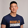 Andy Lee of Great Neck South poses for a portrait during Newsday's All-Long Island boys swimming photo shoot at company headquarters in Melville on Friday, March 23, 2018.