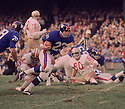 New York Giants Ronnie Blye (22) during a game against the San Francisco 49ers on October 20, 1968 at Yankee Stadium in the Bronx, New York.  The  San Francisco 49ers beat the New York Giants 26-10. Ronnie Blye played for 2 season, with 2 different teams.(SportPics)