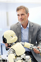 Juergen Schmidhuber, Informatiker und Kuenstler, Robotik, IDSIA, SUPSI Manno
