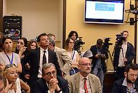 Roma, 15 Luglio 2015<br /> Stefano Fassina, Roberto Giachetti, Daniele Farina.<br /> Presentata una proposta di legge firmata da 218 parlamentari di vari gruppi politici per la legalizzazione delle droghe leggere in Italia