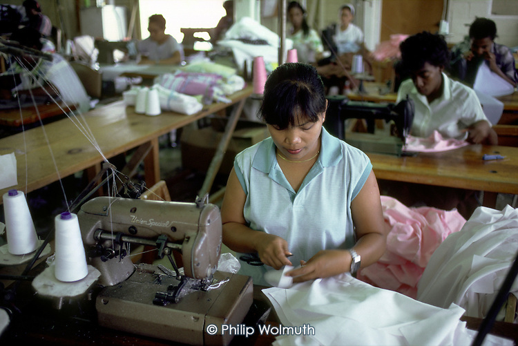 The Eagle Garment Factory makes clothing for regional and local sale