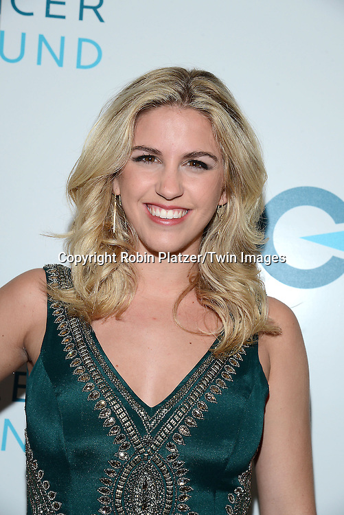Miss New York Jill Tapper attends the Ovarian Cancer Research Fund's  20th Anniversary Legends Gala on November 5, 2015 at the Pierre Hotel in New York City. <br /> <br /> photo by Robin Platzer/Twin Images<br />  <br /> phone number 212-935-0770