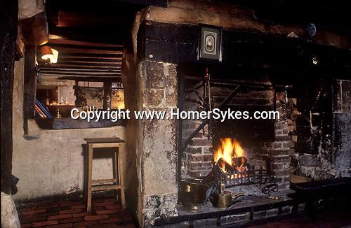 The Village Pub. Three Horseshoes, Elstead, Sussex. England
