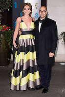 Felicity Blunt and Stanley Tucci<br /> at the 2017 BAFTA Film Awards After-Party held at the Grosvenor House Hotel, London.<br /> <br /> <br /> &copy;Ash Knotek  D3226  12/02/2017
