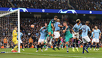 Tottenham Hotspur's Fernando Llorente scores his side's third goal <br /> <br /> Photographer Rich Linley/CameraSport<br /> <br /> UEFA Champions League - Quarter-finals 2nd Leg - Manchester City v Tottenham Hotspur - Wednesday April 17th 2019 - The Etihad - Manchester<br />  <br /> World Copyright © 2018 CameraSport. All rights reserved. 43 Linden Ave. Countesthorpe. Leicester. England. LE8 5PG - Tel: +44 (0) 116 277 4147 - admin@camerasport.com - www.camerasport.com