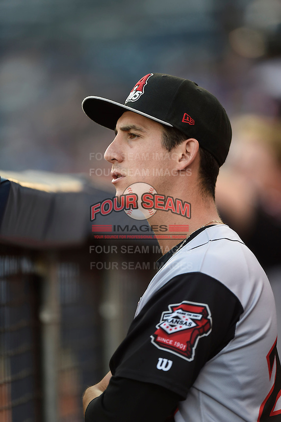 ***Temporary Unedited Reference File***Arkansas Travelers pitcher Danny Reynolds (25) during a game against the Tulsa Drillers on April 25, 2016 at ONEOK Field in Tulsa, Oklahoma.  Tulsa defeated Arkansas 4-3.  (Mike Janes/Four Seam Images)