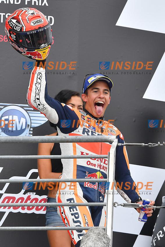 Sachsenring (Germania) 17-07-2015 - Moto GP / foto Luca Gambuti/Image Sport/Insidefoto<br /> nella foto: Marc Marquez