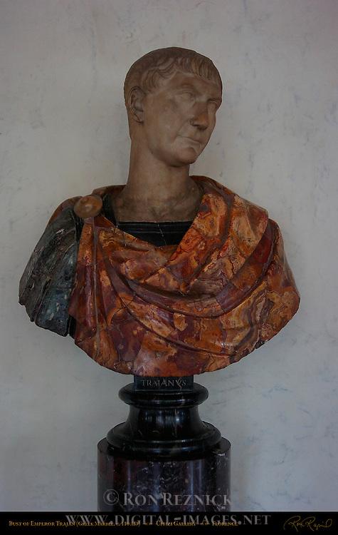 Trajan 110 AD Uffizi Gallery Florence