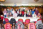 Enjoy his 50th Birthday was Gerard Kelly from Knocknasna, Abbeyfeale, pictured here celebrating with family and friends last Saturday night in Leen's Hotel, Abbeyfeale.