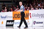 S&ouml;dert&auml;lje 2014-04-22 Basket SM-Semifinal 7 S&ouml;dert&auml;lje Kings - Uppsala Basket :  <br /> Domare Saulius Racys<br /> (Foto: Kenta J&ouml;nsson) Nyckelord:  S&ouml;dert&auml;lje Kings SBBK Uppsala Basket SM Semifinal Semi T&auml;ljehallen portr&auml;tt portrait