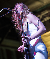 Ana Popovic performs at the 2014 Crescent City Blues and BBQ Festival in New Orleans, LA.