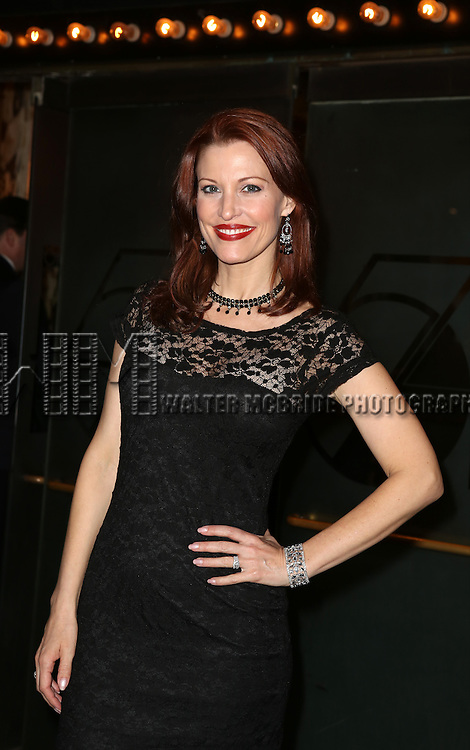 Rachel York attending the Broadway Opening Night Performance of 'Cabaret' at Studio 54 on April 24, 2014 in New York City.
