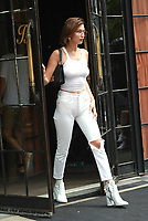NEW YORK, NY - JULY 17: Bella Hadid seen on July 17, 2017 in New York City. Credit: DC/Media Punch