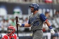 Francisco Cervelli de Italia, durante el partido entre Italia vs Puerto Rico, World Baseball Classic en estadio Charros de Jalisco en Guadalajara, Mexico. Marzo 12, 2017. (AP Photo/Luis Gutierrez)
