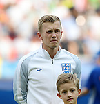 England's James Ward-Prowse in action during the UEFA Under 21 Semi Final at the Stadion Miejski Tychy in Tychy. Picture date 27th June 2017. Picture credit should read: David Klein/Sportimage